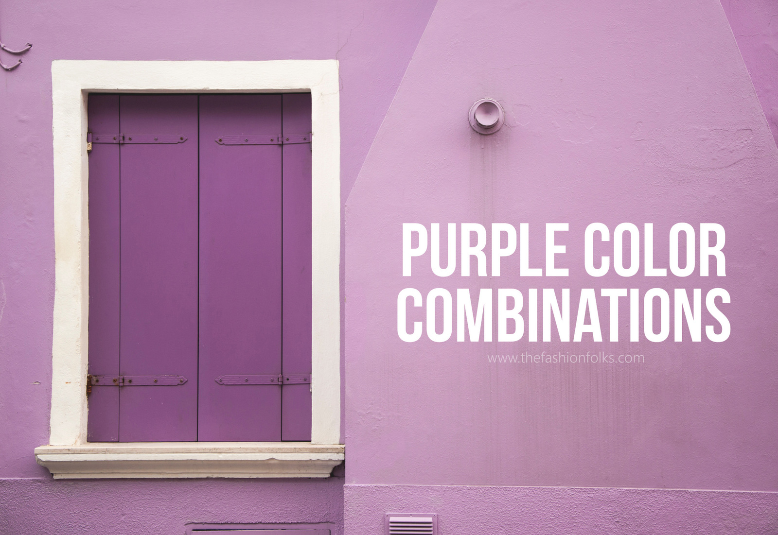 Purple Color Combinations 2018