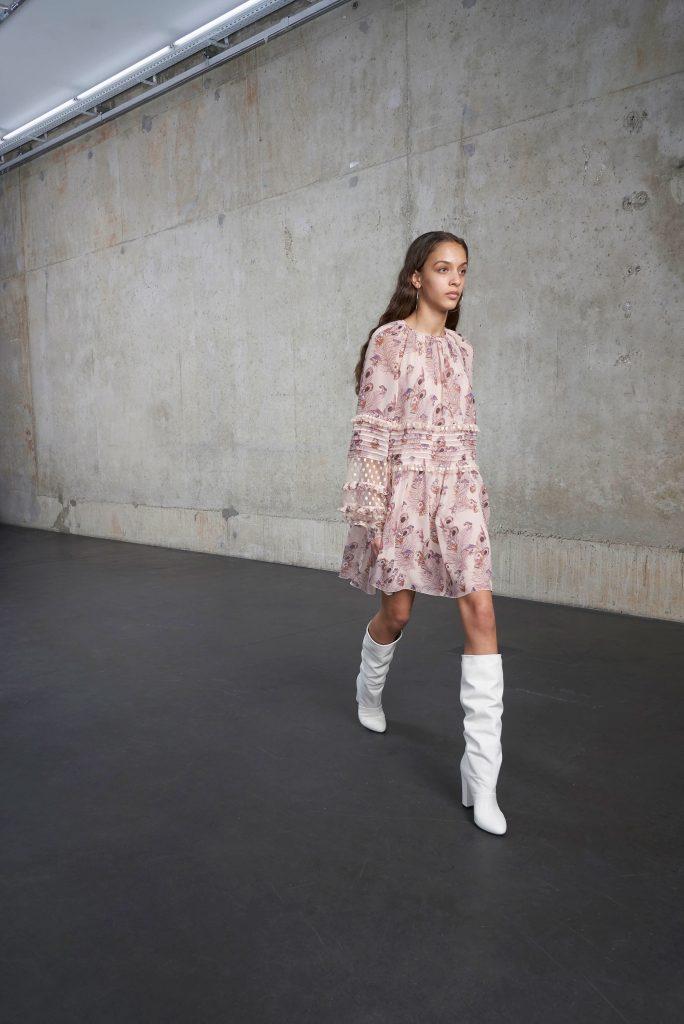 White Boots Fall 2018 - Giamba Pre-Fall 2018