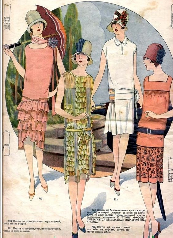 Fashion History of Details: The Neck (1920s)