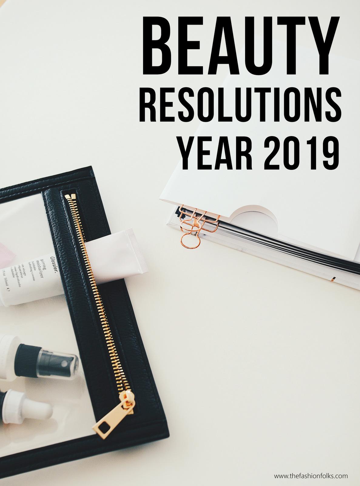 Beauty Resolutions 2019