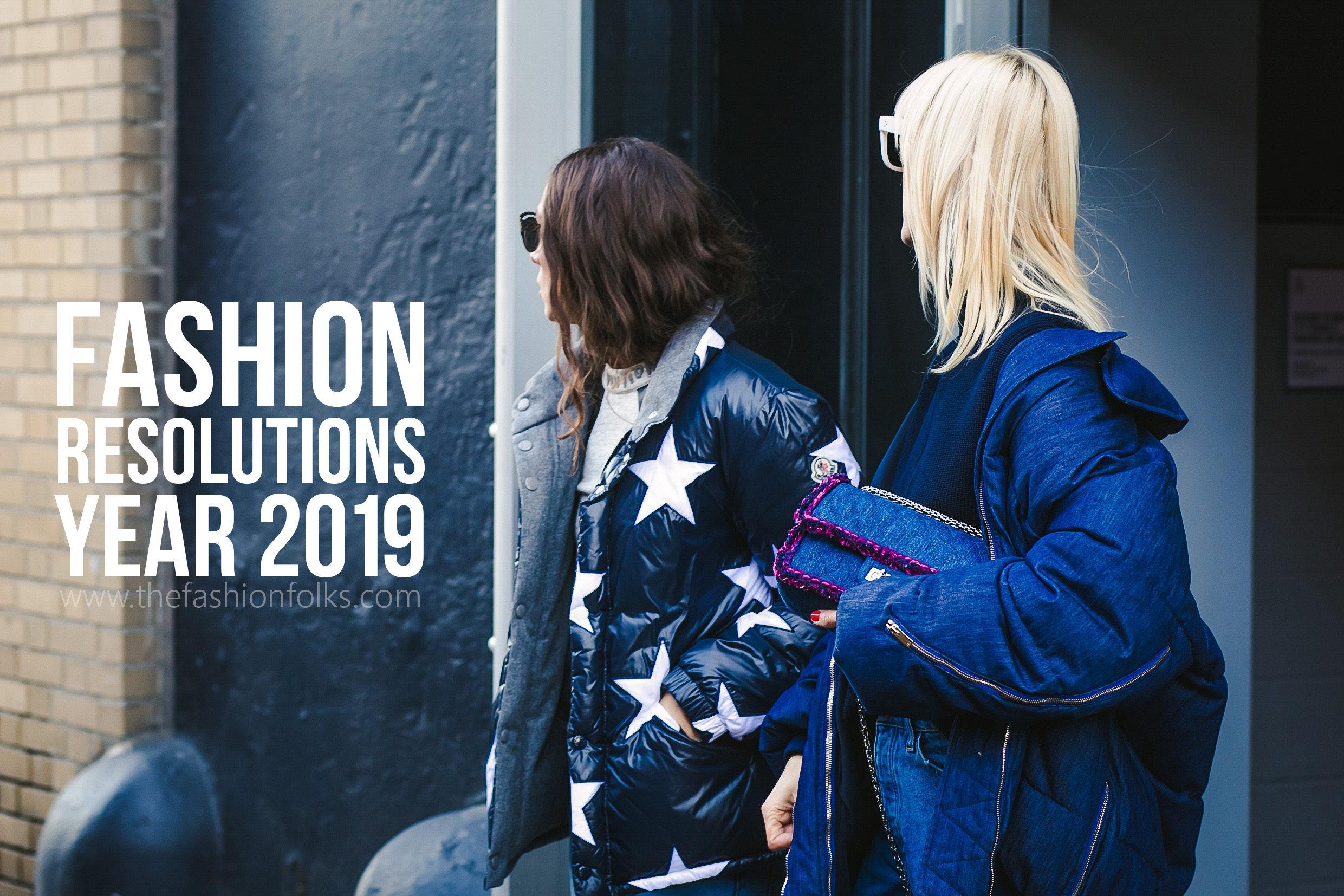 Fashion Resolutions 2019