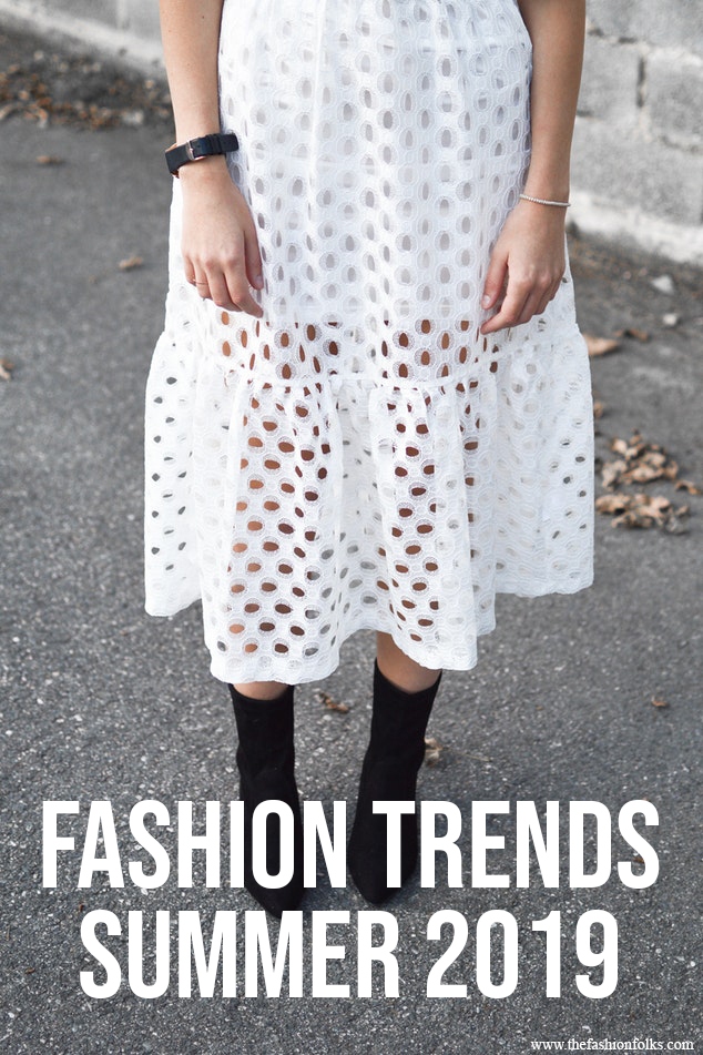 Fashion Trends Summer 2019 | White dress