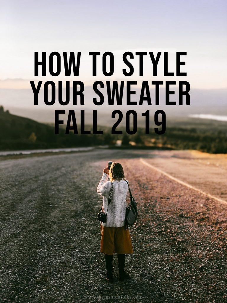 Sweater Fall 2019