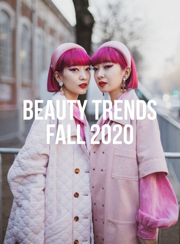 Beauty Trends Fall 2020