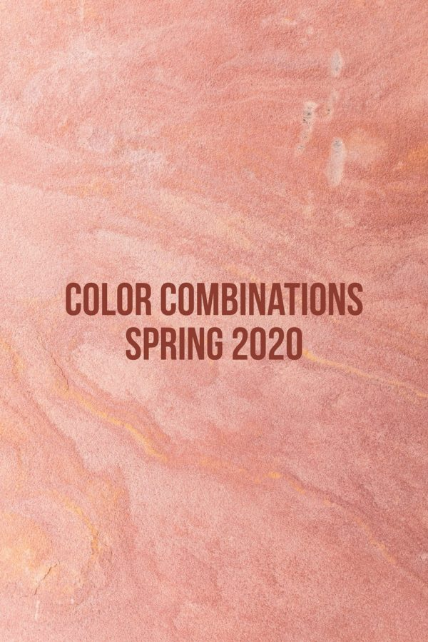 Color Combinations Spring 2020