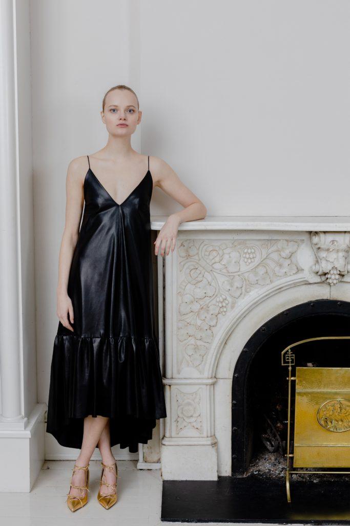 Black Slip Dress 2020 | Adam Lippes