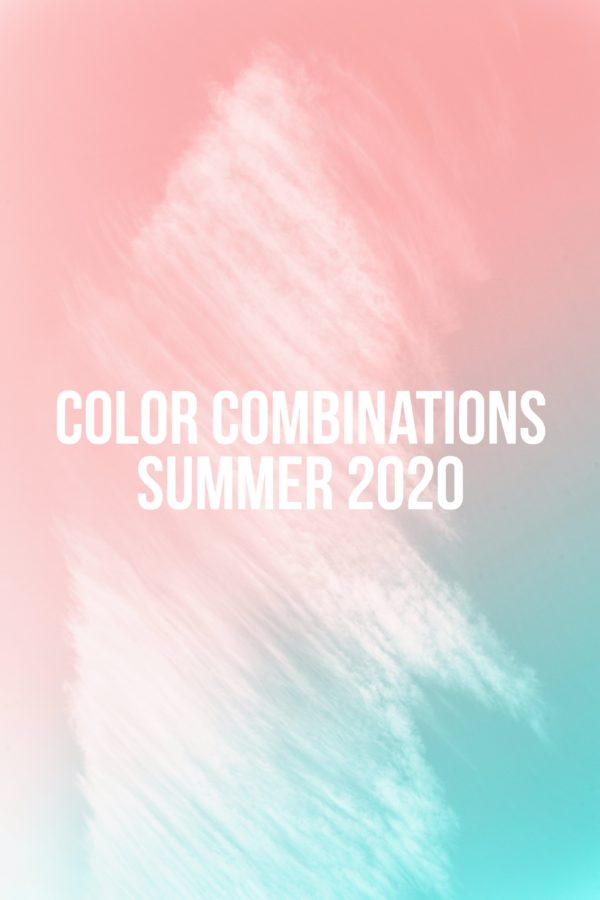 Color Combinations Summer 2020