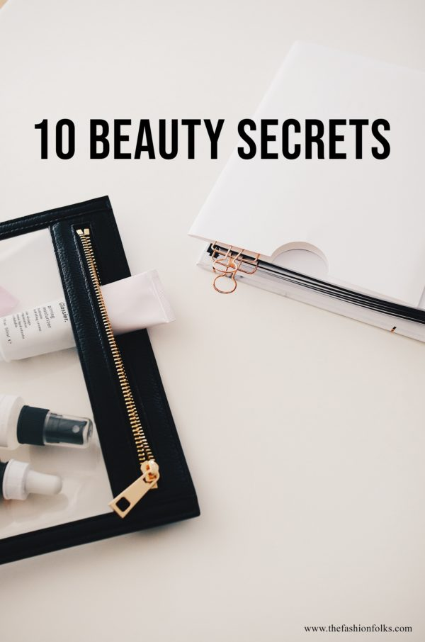 10 Beauty Secrets 2020