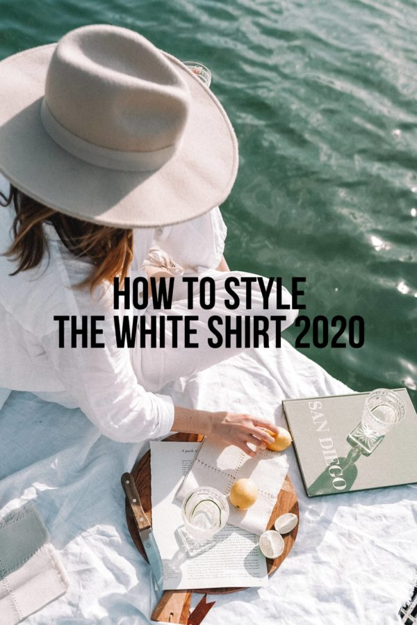 How To Wear The White Shirt Summer 2020