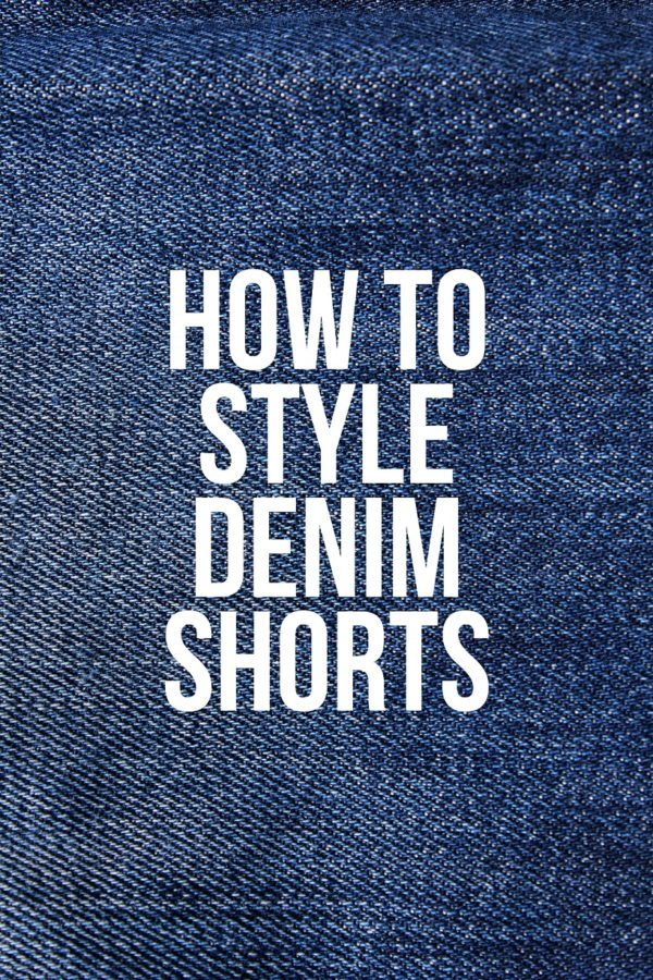 How To Style the Denim Shorts 2020