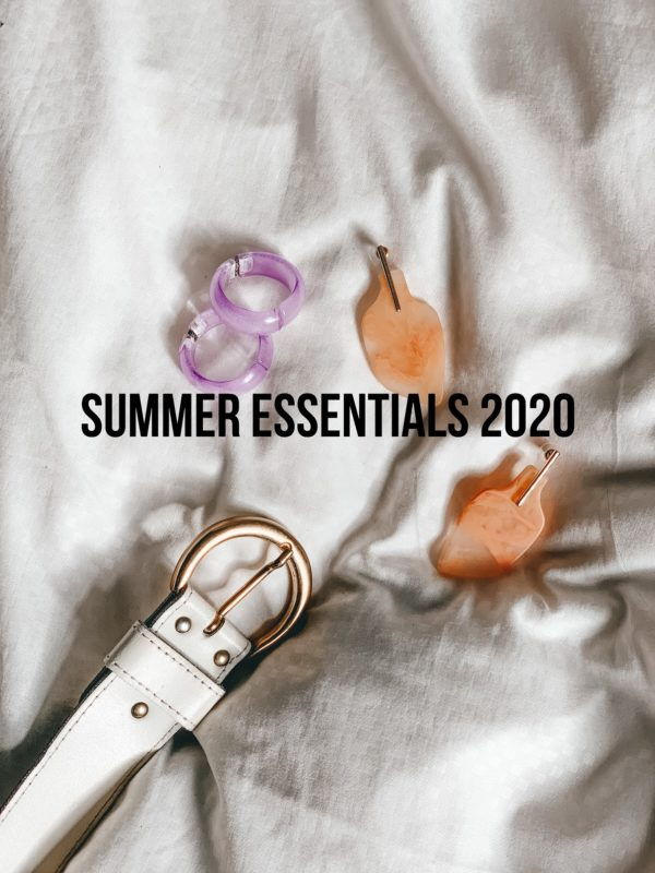 Summer Essentials 2020