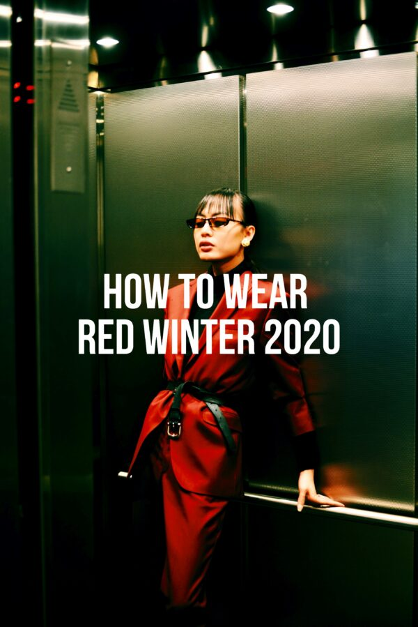 How To Wear Red Winter 2020