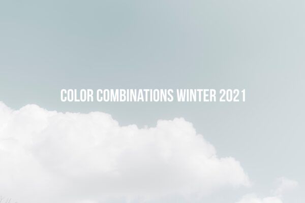 Color Combinations Winter 2021