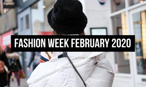 Fashion Week February 2020