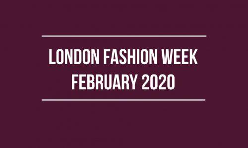 LFW February 2020