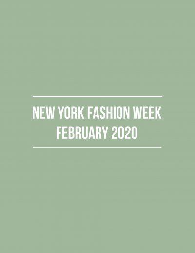 NYFW-February-2020