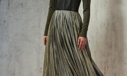 Pre-Fall-2019-J.Mendel-Metallic-Skirt