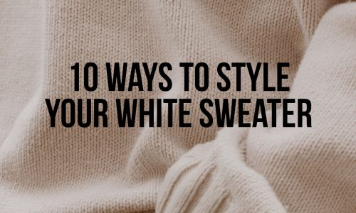 Style-Your-White-Sweater