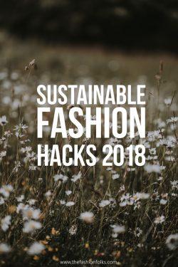 Sustainable Fashion Hacks
