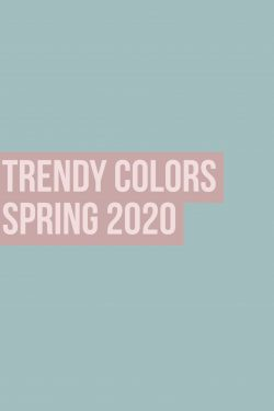 Trendy Colors Spring 2020 (2)